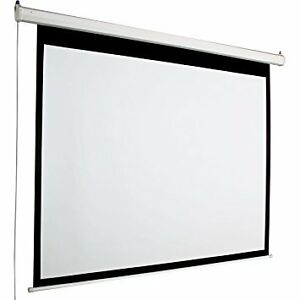 "NEW - Accuscreen 92"" diagonal 16:9 Electric Projection Screen"