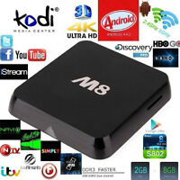 Quad Core M8 TV Box- Free TV, Movies,Shows-call/text613-242-1444
