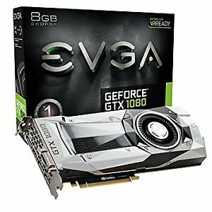 EVGA GEFORCE GTX 1080 Founders edition cards