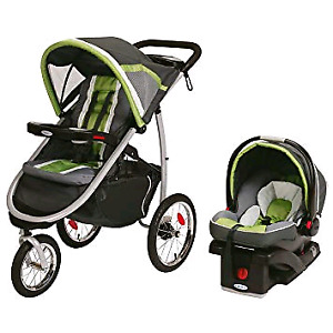 Graco fastaction fold jogger quick connect travel system