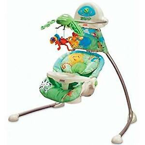 Fisher Price RainForest Swing & Craddle