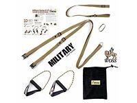 WOSS Military Strap Trainer (TRX alternative)