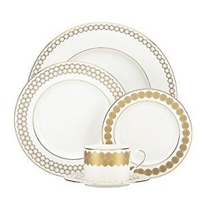 Lenox Prismatic Gold 5-Piece Place Setting