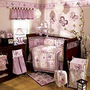 Cocalo Sugar Plum baby crib bedding set - 10 Piece