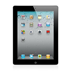 iPad 2 WiFi Only 16 GB Black: Refurbished, In Excellent Condition, Charging Accessories Included