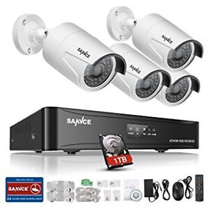 Sannce security video system- easy install