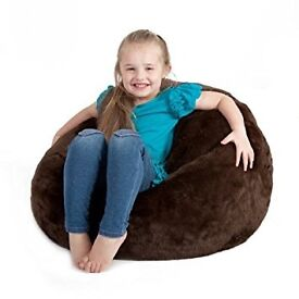 Icon Large Brown Beanbags