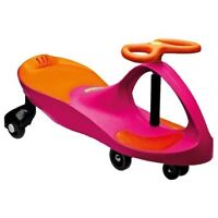 Like New Pink and Orange Plasma Car