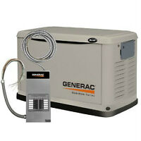 8kW Generac Generator (Unit+Automatic Transfer Switch)
