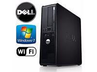 Dell Optiplex 780 quad core genuine win7 1tb , wifi ddr3 ram
