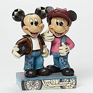 Disney Traditions by Jim Shore: Biker Mickey And Minnie