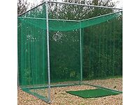 Professional golf net/cage