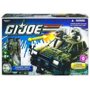 GI Joe GIJ Joe V.A.M.P. MK-II Multi-Purpose Attack Vehicle with