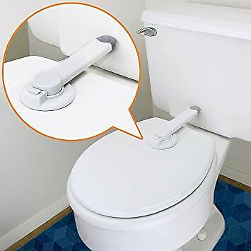- Toilet Baby Lock Safety Door Cabinet Ideal Baby Proof Toilet Lid Lock with Arm