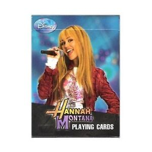► DISNEY HANNAH MONTANA - Playing Cards (NEW)