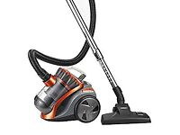VonHaus 1200W 2L Bagless Cylinder Vacuum Cleaner with 5m Cord and 1.5m Tube Length, HEPA Filtration