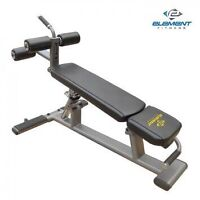 Element Adjustable Ab/Decline Bench Commercial Gym Equipment