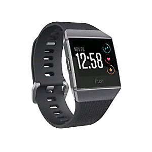 Brand new sealed fitbit ionic charcoal grey small + large size