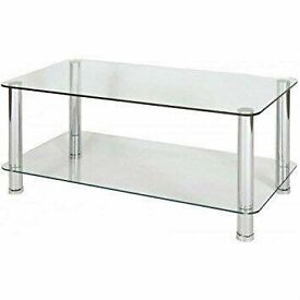 Matrix Glass Coffee Table