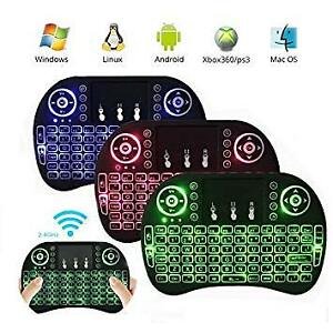 Backlit Wireless Mini Keyboard - Android, PC, Apple, Linux