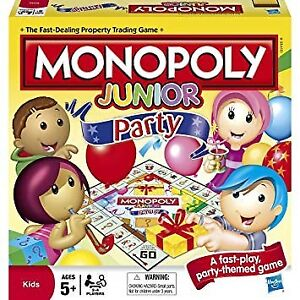 NEW!  Monopoly Junior Party