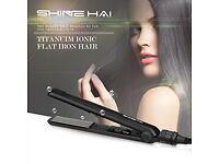 Titanium hair straighteners