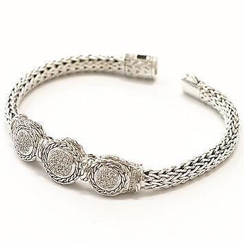 john hardy diamond bracelet ebay
