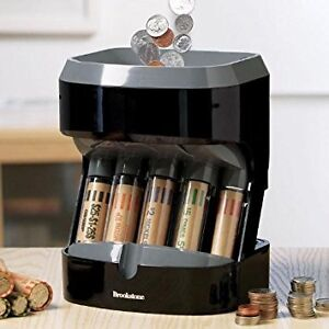 Ultra Sorter Motorized Coin Sorter with many free coin tubes
