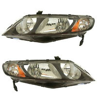 headlights honda civic