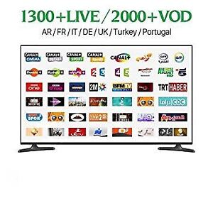 IPTV SUBSCRIPTION ALL EUROPEAN AND ENGLISH CHANNELS