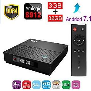 TX92 S912 Smart TV Box Android 7.1 Amlogic Octa-core 3GB 32GB Dua Doveton Casey Area Preview