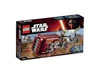 Lego Star Wars Reys Speeder Set Number 75099