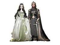 WANTED The Lord of the Rings Barbie dolls (Arwen, Aragorn and Legolas) don't need to be boxed