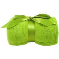 Super Soft Green Blanket