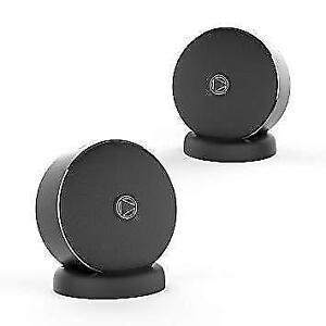 Playground Portable Bluetooth Stereo Pair Speaker System - Black