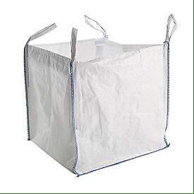 WANTED cubic metre bags (sand, gravel, builders)