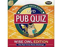 Pub Quiz - Wise Owl Edition
