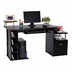 Office Desk Computer Wooden grain Desk Laptop Study table DESK