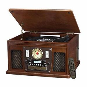 Innovative Technology Victrola 8-in-1 Wooden Music Centre & Turntable *** BLOWOUT SALE ***