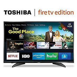 "TOSHIBA 50"" LED 4K HDR SMART UHDTV *NEW IN BOX*"