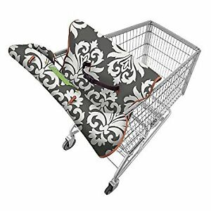Grocery cart plush cover