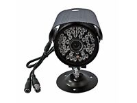 Generic Waterproof 48 LED Infrared Night Vision Security Spy CCD Camera 6mm with Bracket