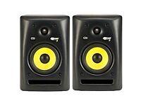 Pair of KRK Rokit G2 RP5's in original boxes - active studio monitor speakers - music production