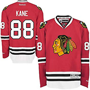 New #88 Kane - Chicago Blackhawks Reebok NHL Premier Jersey – XL