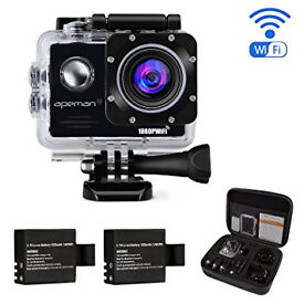 Apeman 4K Camera with accessories