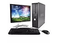 "Dell Desktop Tower PC complete with 19"" TFT, Keyboard and Mouse, 🎅only £135🎅"
