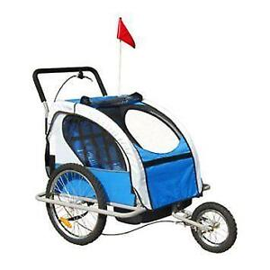 2 in1 Childrens Bicycle Trailer and Stroller / Stroller Trailer jogger