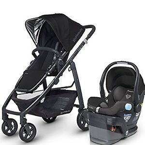 Uppababy Cruz stroller with car seat-adapter-........