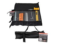 Milestone Camping Accessory Set With Bag - Black
