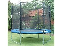 FREE TRAMPOLINE - If you can collect it you can have it